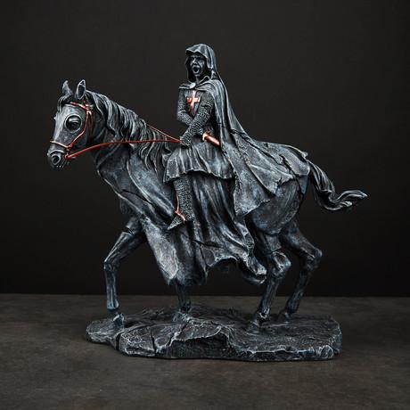 Templar on Horse
