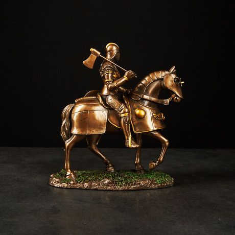 Gothic Knight on Horse