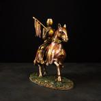 Crusader on Horse