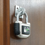 2nd Gen Smart Padlock // Black