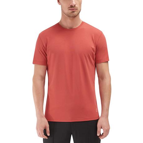 Voyager Crew Neck T-Shirt // Orange