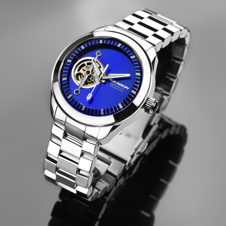 Aragon Antigravity Open Heart Automatic // A288BLU
