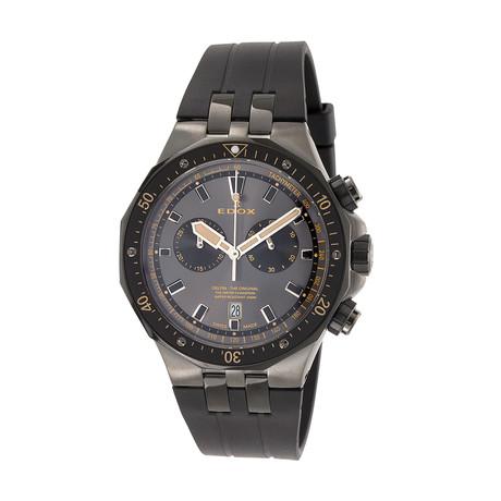 Edox Delfin Chronograph Quartz // 10109 357GNCA NINB // New
