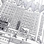 """Amsterdam (Small: 8.25""""W x 11.75""""H)"""
