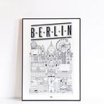 "Berlin (Small: 8.25""W x 11.75""H)"