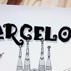 "Barcelona (Small: 8.25""W x 11.75""H)"