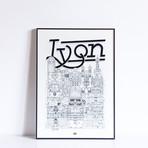"""Lyon (Small: 8.25""""W x 11.75""""H)"""