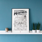 """Montreal (Small: 8.25""""W x 11.75""""H)"""