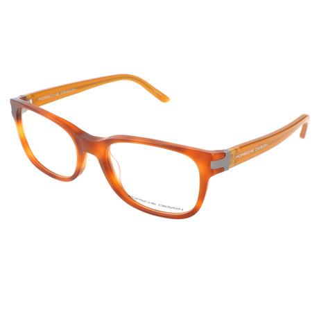 Men's P8250 Optical Frames // Light Havana