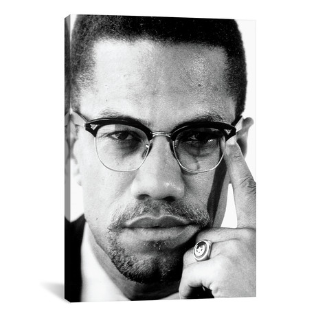 Malcolm X Portrait I // Globe Photos, Inc.