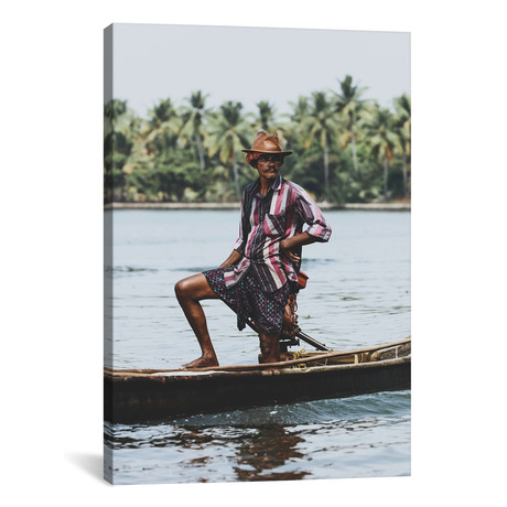 "Kochin, India III // Luke Anthony Gram (12""W x 18""H x 0.75""D)"