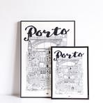 """Porto (Small: 8.25""""W x 11.75""""H)"""