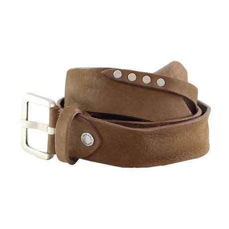 Ricardus Rustic Belt // Taupe