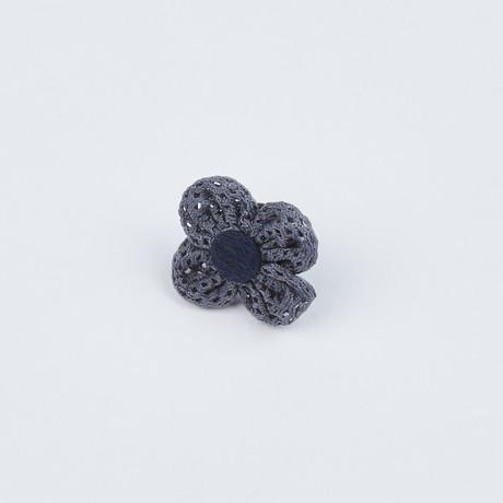 Flower Pin // Dusty Grey