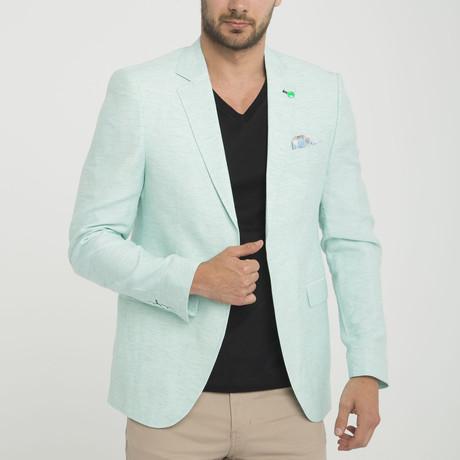 Rocco Blazer Jacket // Mint (S)