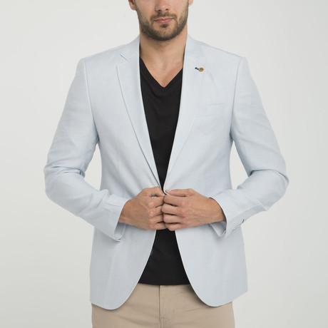 Rocco Blazer Jacket // Light Blue (S)