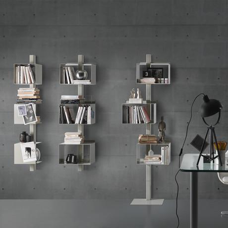 Rettangola Bookcase (White)
