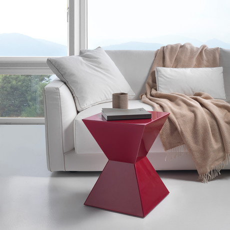 Capsula Coffee Table // Red