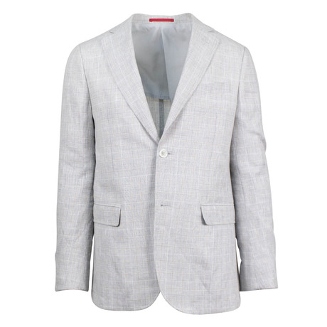 Pal Zileri // Loy Linen Blend Slim Fit Sport Coat // Gray (US: 48R)