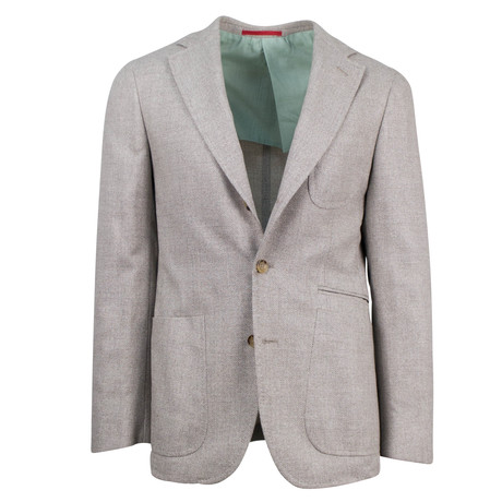 Pal Zileri // Ila Wool Blend Slim Fit Sport Coat // Beige (US: 46R)