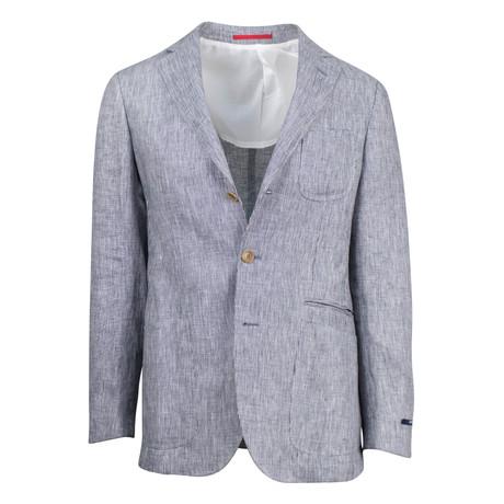 Hosteen Linen Slim Fit Sport Coat // Gray