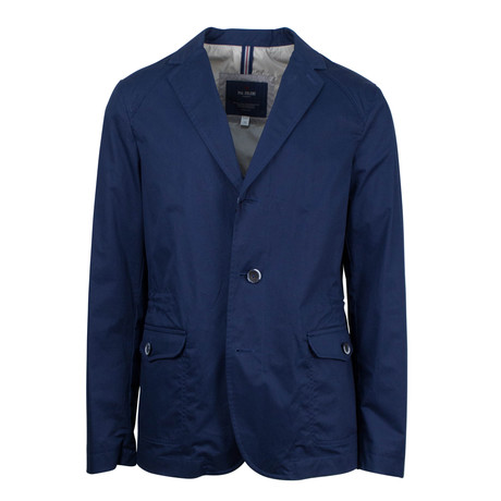 Pal Zileri // Hobert Cotton Blend Trench Coat // Blue (Euro: 54)