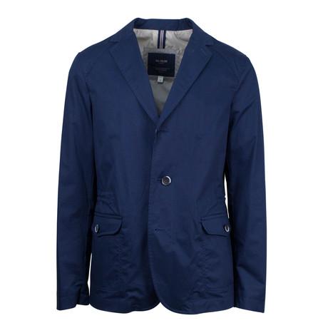 Pal Zileri // Hobert Cotton Blend Trench Coat // Blue (Euro: 48)