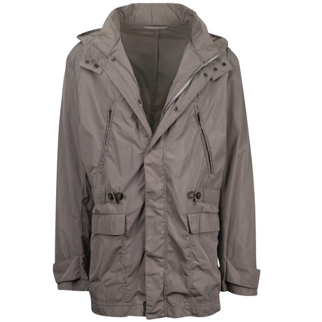 Pal Zileri // Jovanni Hooded Trench Coat // Taupe (Euro: 54)
