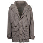 Pal Zileri // Jovanni Hooded Trench Coat // Taupe (Euro: 58)