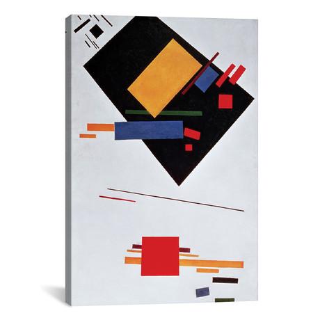 """Suprematist Composition // Kazimir Malevich // 1915 (26""""W x 18""""H x 0.75""""D)"""