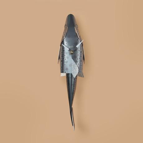 Bonito Fish Clock // Brown Trout