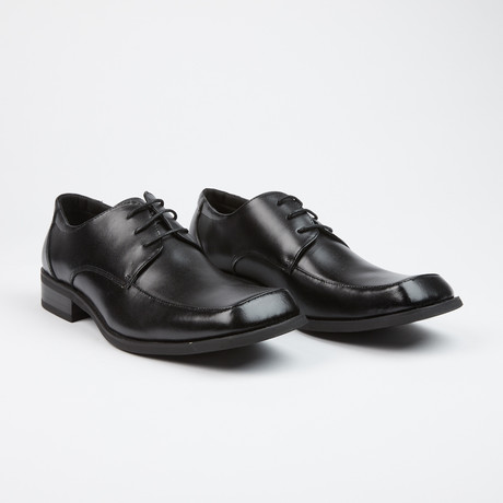 Leather Lace-Up Loafer // Black (US: 6)