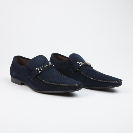 Slip On Loafers // Navy