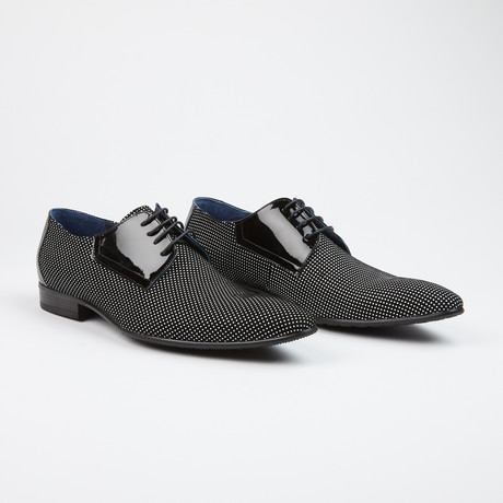 Polka Dot Oxfords Black/White (US: 7)