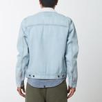 Zip Denim Jacket // Vintage Bleach (S)