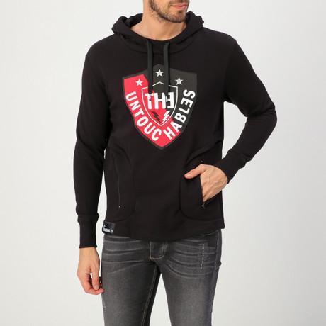 Tecno Sweatshirt // Sweet Black