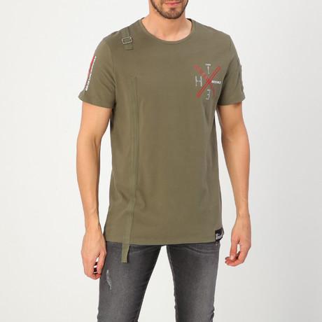 Combat Military T-Shirt // Green