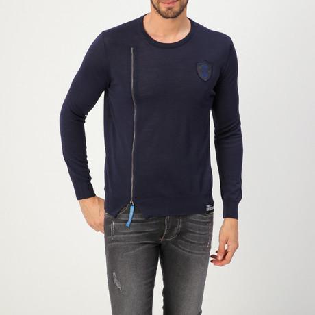 Jersey Hip Sweater // Navy Blue