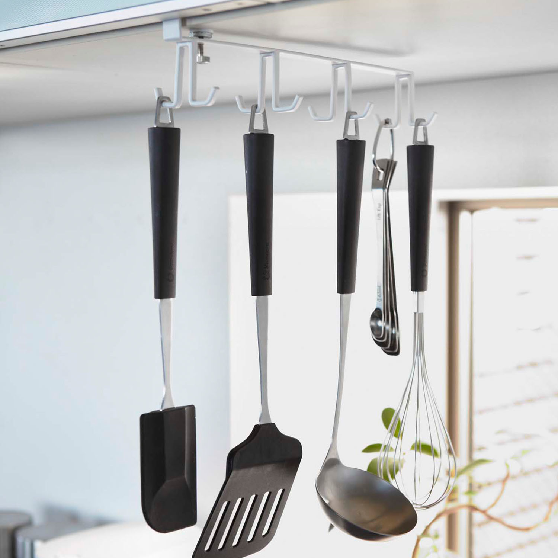 Plate // Under Cabinet Kitchen Tool Hook - Yamazaki ...
