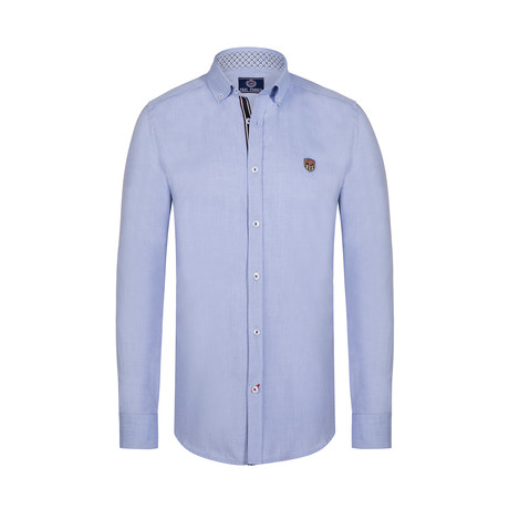 Lara Button Down Shirt // Blue (S)