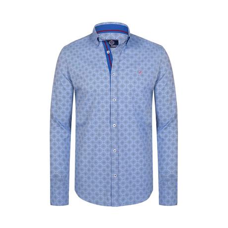 Foster Button Down Shirt // Blue (S)