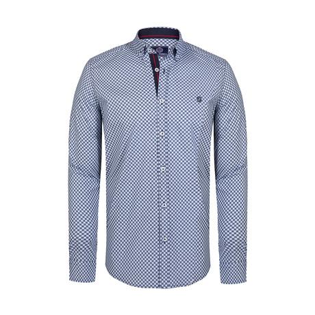 Shirt // White Navy
