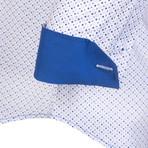 Shirt // White + Blue (S)
