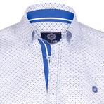 Shirt // White + Blue (3XL)
