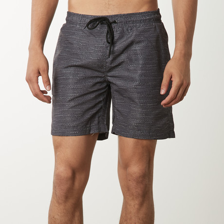Triangles Dashes Trunk // Charcoal