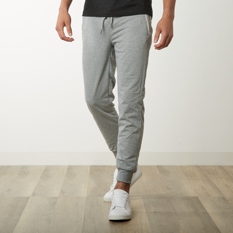 French Terry Joggers // Heather Grey