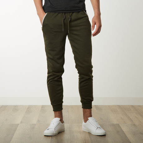 French Terry Joggers // Olive