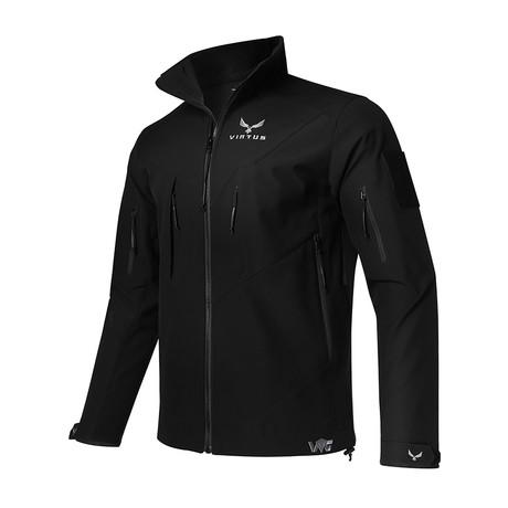 Astraes Mid Layer Jacket // Black (S)