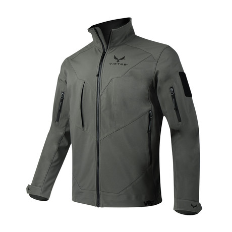 Astraes Mid Layer Jacket // Gray (S)