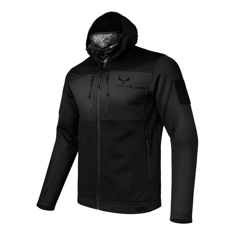 LEAF Helios Base Layer Jacket // Black // NYX (S)